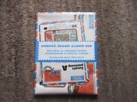 Hornby stamps - for the junior collector. Original sealed packet of stamps and paper album.