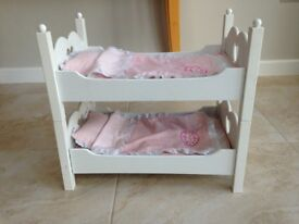 Doll's bunk beds - suitable for Baby Annabell doll
