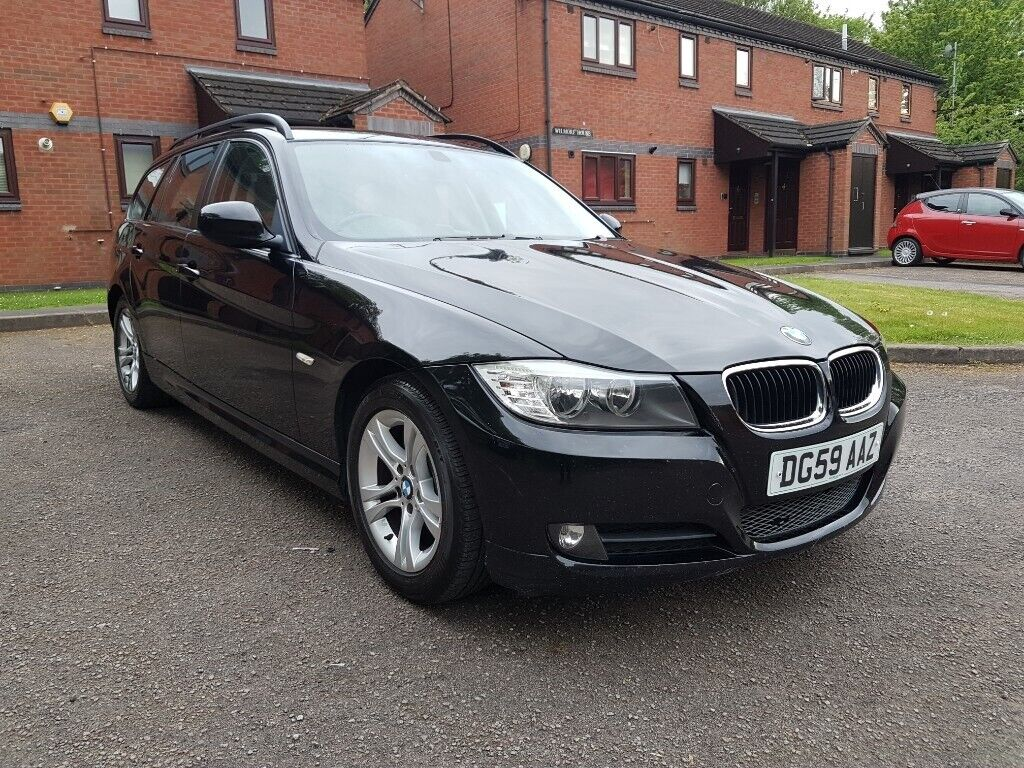 2009 59 FACELIFT BMW 3 SEIRES 318D LCI BLACK 2 0 DIESEL KEY-LESS START  ALLOYS WHEELS AUX CD PLAYER   in Perry Barr, West Midlands   Gumtree