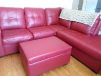 fauteuil et causeuse inclinable
