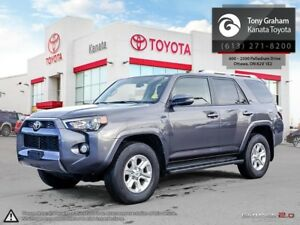 2015 Toyota 4Runner SR5 V6 UpGrade Pkg+Navigation+Sunroof