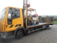 IVECO 7.5TON BEAVERTAIL 2007 RECOVERY TRUCK