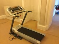 Roger Black Gold Treadmill, excellent condition, full work order from smoke/pet free home, folds up