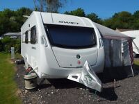 Swift Lifestyle 6FB 2012 Caravan with the Whole Package