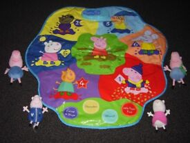 Peppa Play Mat and beanies
