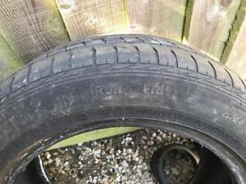 GOOD YEAR runflat tyre 225/55/17