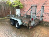 Indespension challenger plant trailer 10 x 6 (Twin axle with ramp) 2.5 ton.