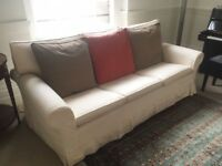 High Quality 3 Seat Vintage Sofa –Great Condition (little use) - John Lewis, Laura Ashley, Conran