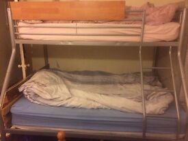 Double Bunk Bed for sale - MUST GO BY 14 Feb