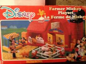 Disney farmyard playset