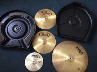 Zildjian Cymbal Hardcase plus Cymbals for sale
