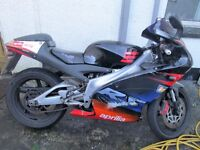 2 x Aprilla RS125 Motorbikes for sale