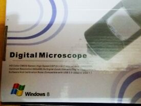 USB Digital Microscope 2MP Camera (Windows 8 or earlier only!)