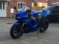 Kawasaki ninja Zx-6r 2008 model with yoshimura carbon can