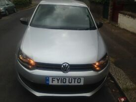 2010 silver VW Polo 1.2, 47,000miles 5 door hatchback