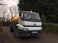 tanker vacuum tanker lorry