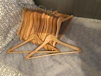 Wooden Coat Hangers - In multiples of 5