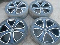 "22"" STORMER 2 STYLE ALLOY WHEELS / TYRES - BMW X5 / VOLKSWAGEN T5 / RANGE ROVER"