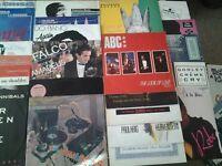 "JOBLOT VINYL 12"" x 100 SYNTH POP 80's / NEW WAVE Romantics / ELECTRONIC Xmas present Viewing HARROW"