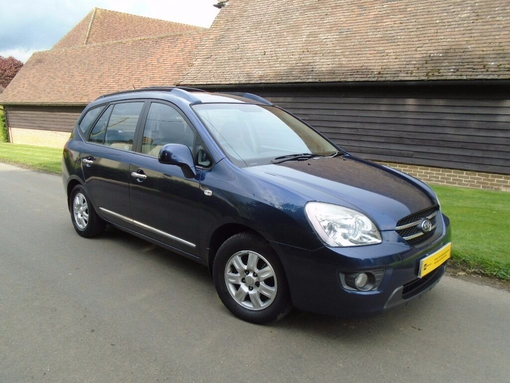 kia carens 2007 2l manual diesel great value 7 seater in wrotham kent gumtree. Black Bedroom Furniture Sets. Home Design Ideas