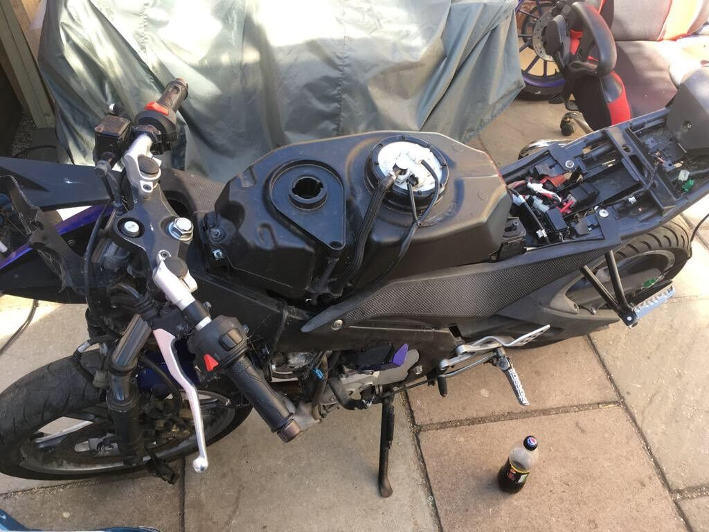 Yamaha R125 YZF Engine And Loom Ideal For Go Kart Petrol Mobility Scooter Drift Trike