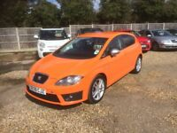 2010 SEAT LEON FR CR 2.0 DIESEL 1 OWNER FROM NEW