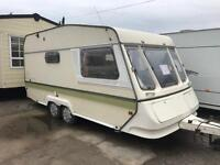 Twin axle lightweight 16ft ABBEY GT 2 berth end wc elddis abi caravan MUST CLEAR can deliver