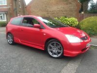 HONDA CIVIC 2.0 TYPE R RED MANUAL HPI CLEAR SERVICE HISTORY PX WELCOME