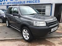 2003 LANDROVER FREELANDER KALAHARI STATION WAGON GREY 5 DOOR FOUR WHEEL DRIVE CHEAP 4X4