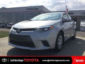 Toyota Certified 2016 Toyota Corolla LE - HEATED SEATS!