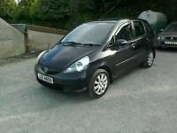 05 Honda Jazz 1.4 5 door Moted Sept 17 clean car Black ( can be viewed inside anytime)