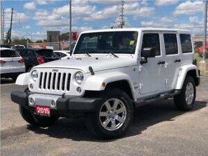 2015 Jeep WRANGLER UNLIMITED SAHARA**6.5 INCH TOUCHSCREEN**NAVIG