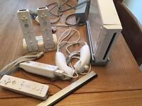 Wii bundle with original box.