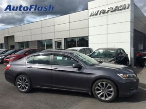 2015 Honda Accord Sport 4 Cyl. * Bluetooth * Clean! * Camèra *