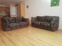 IKEA 2 seater Sofa bed and 2 seater settee bargain £70 ono