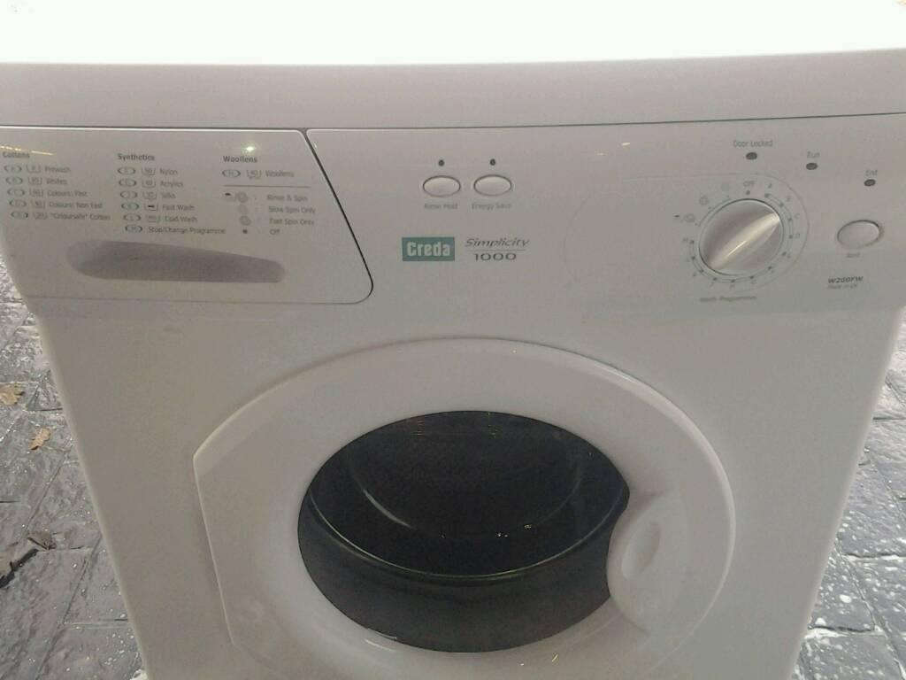 Creda washing machine as new