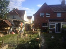 Single or double room with garden, dog, garage and pottery shed!