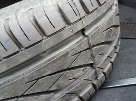 Continental 205/55R16 Spare Tyre with steel wheel in good condition