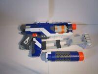 Elite Nerf Gun Spectre with deattachable accessories
