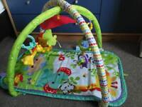 Fisher price musical gym mat