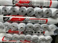 Breathable bba approved membrane for roofing and building. 1.5m lengths by 50m rolls( 75m2)