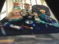 Selection of used kids Frozen items