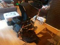 Joovey caboose ultralight dual / double pushchair