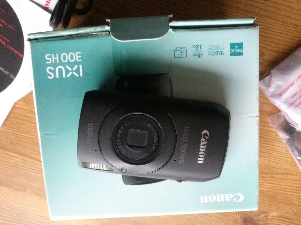 Canon IXUS 300 HS Digital Camera