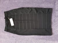 Lipsy Black Bandage Skirt Size 8 - Brand New / Never Worn - With Tags
