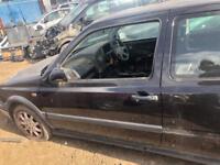 MK3 VOLKSWAGEN GOLF GTI PASSENGER DOOR BREAKING SPARES PARTS CHELMSFORD ESSEX LONDON RETTENDON