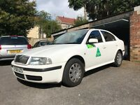 Taxi for Sale - Skoda Octavia 1.9TDi - Still plated for 6 Months