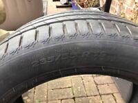 Michelin Latitude Sport 3. 235-55-19 tyre 7mm
