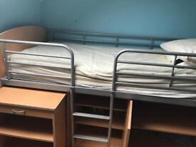 Captains bunk bed