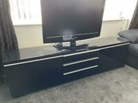 Ikea Besta Burs TV Unit/stand - High Gloss black